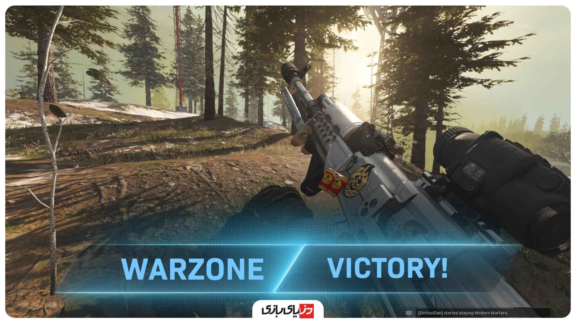 آموزش warzone - چگونه در وارزون وین بگیریم