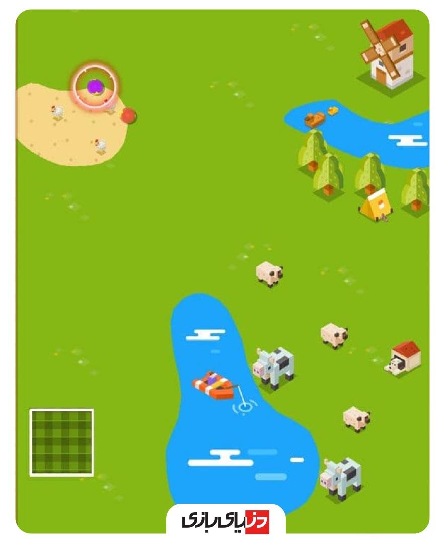 بازی های پلاتو - بازی Mini Golf