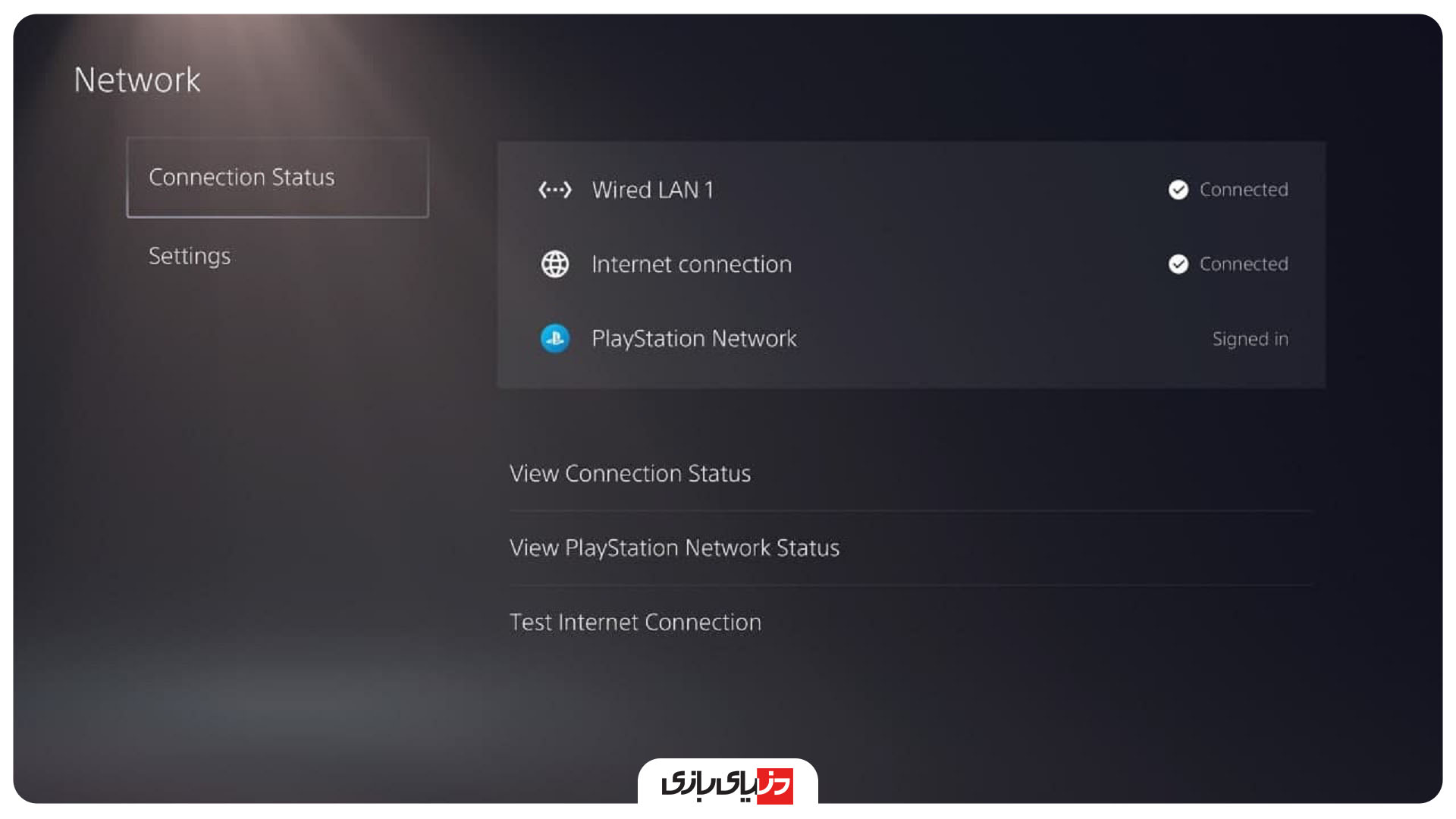 ارورهای PS5 - اینترنت