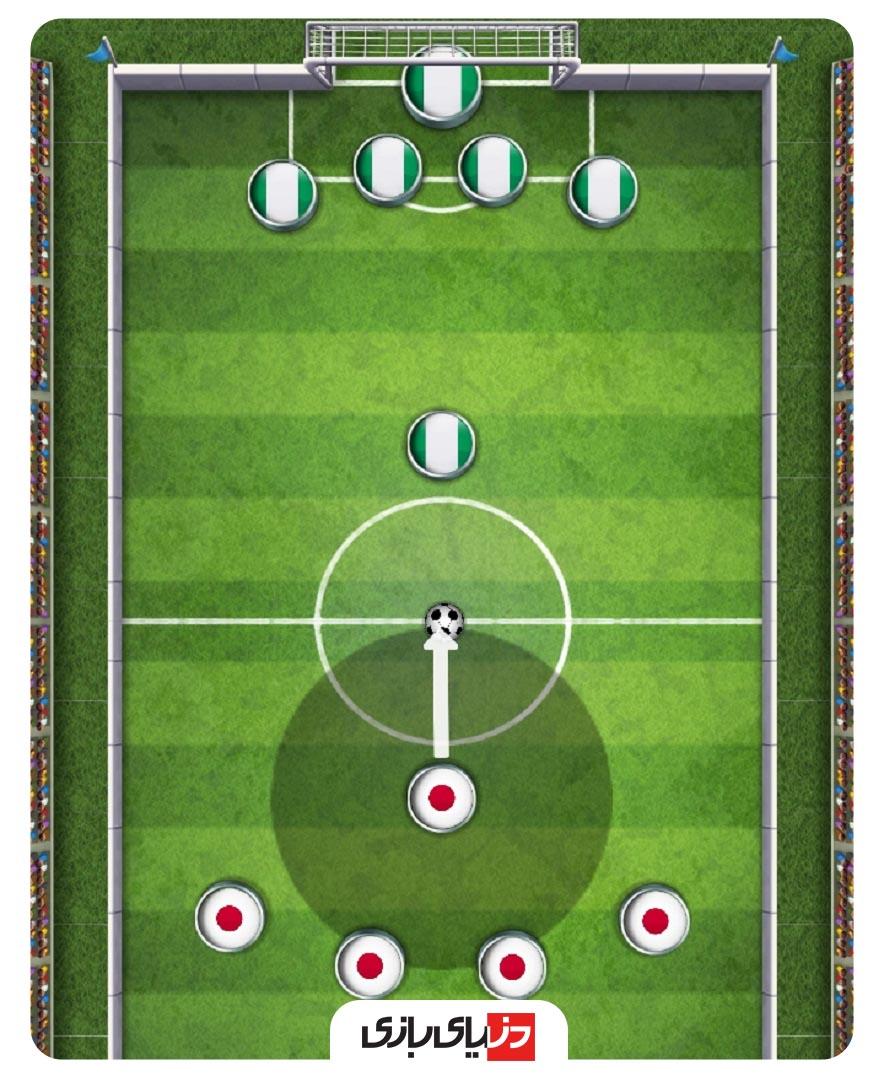 بازی های پلاتو - بازی Table Soccer