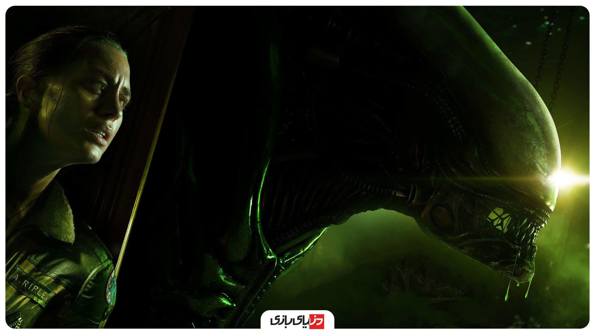 بهترین بازی ترسناک - Alien: Isolation - ترسناک ترین بازی های دنیا