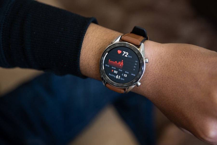 اندازهگیری پارامترهای سلامتی با ساعت هوشمند هواوی