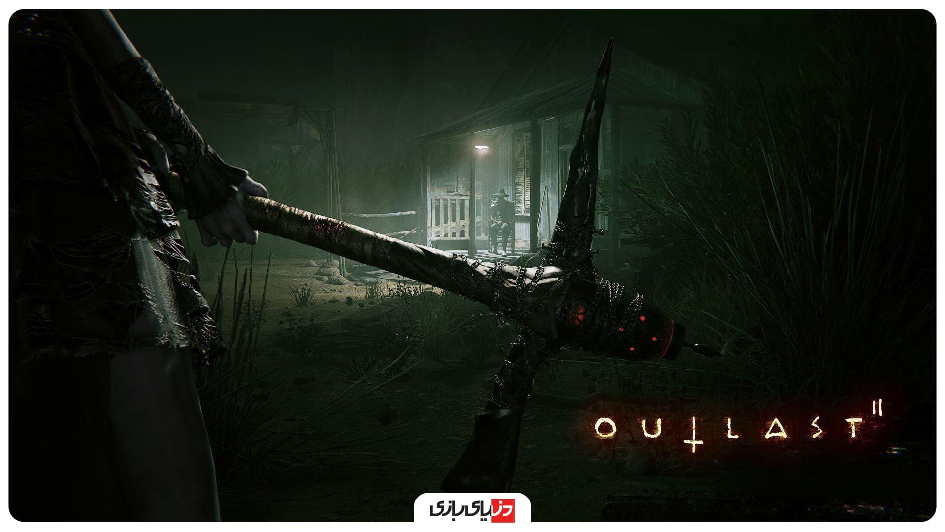 بهترین بازی ترسناک - Outlast 2