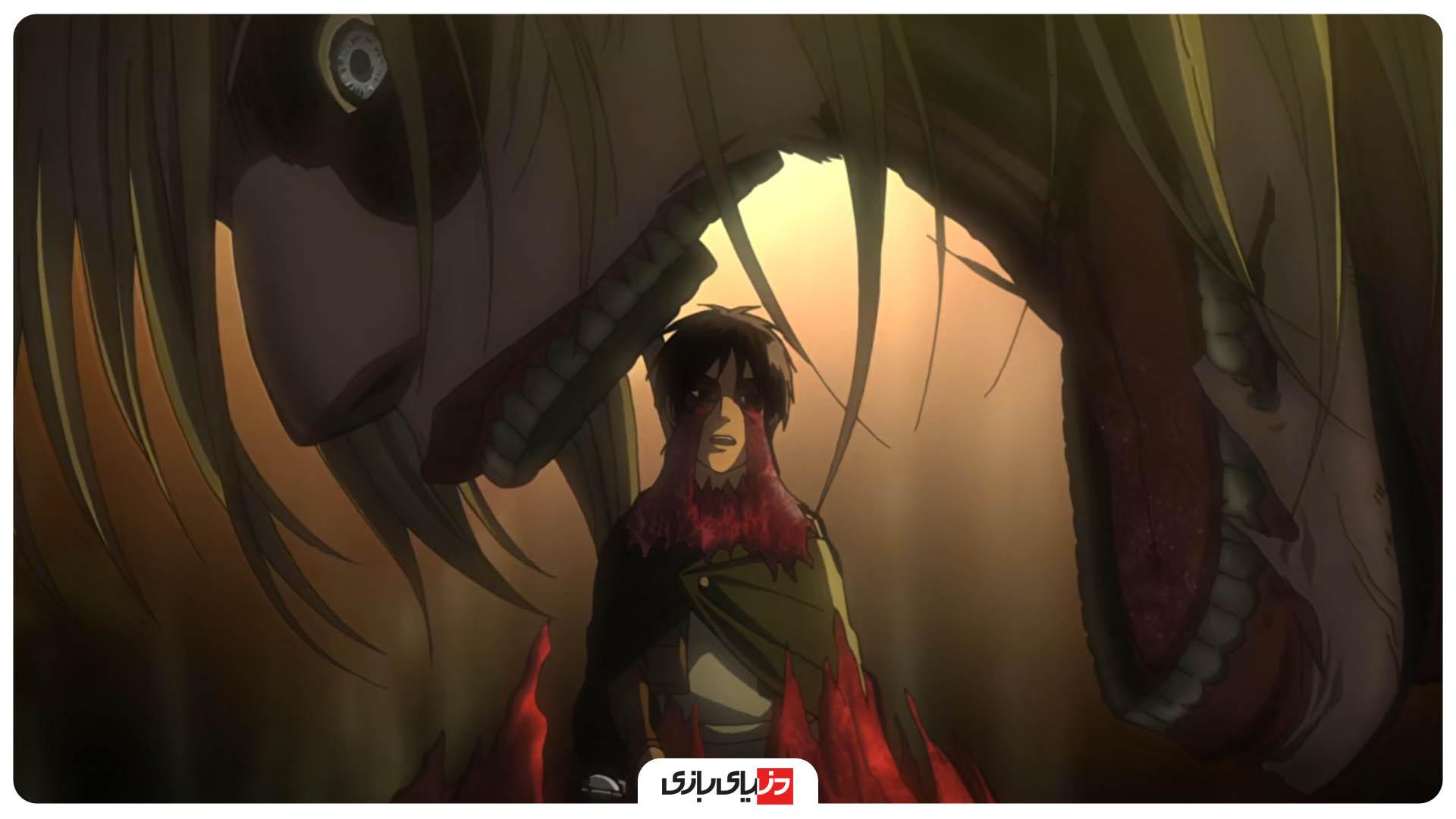 بهترین قسمت های انیمه Attack on Titan