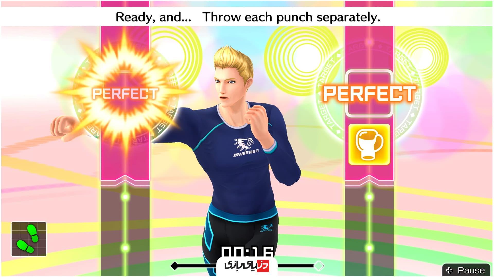 بازی های بوکس -Fitness Boxing