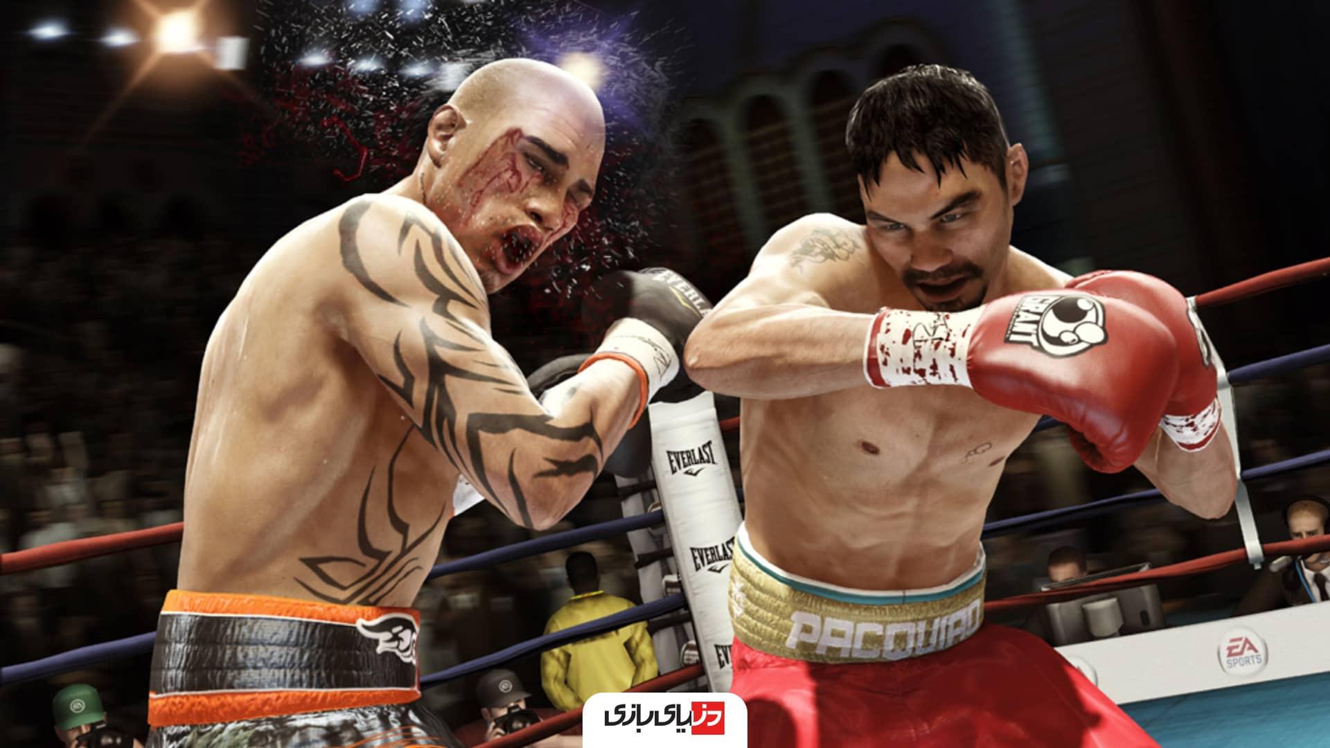 بازی های بوکس -Fight Night Round 4