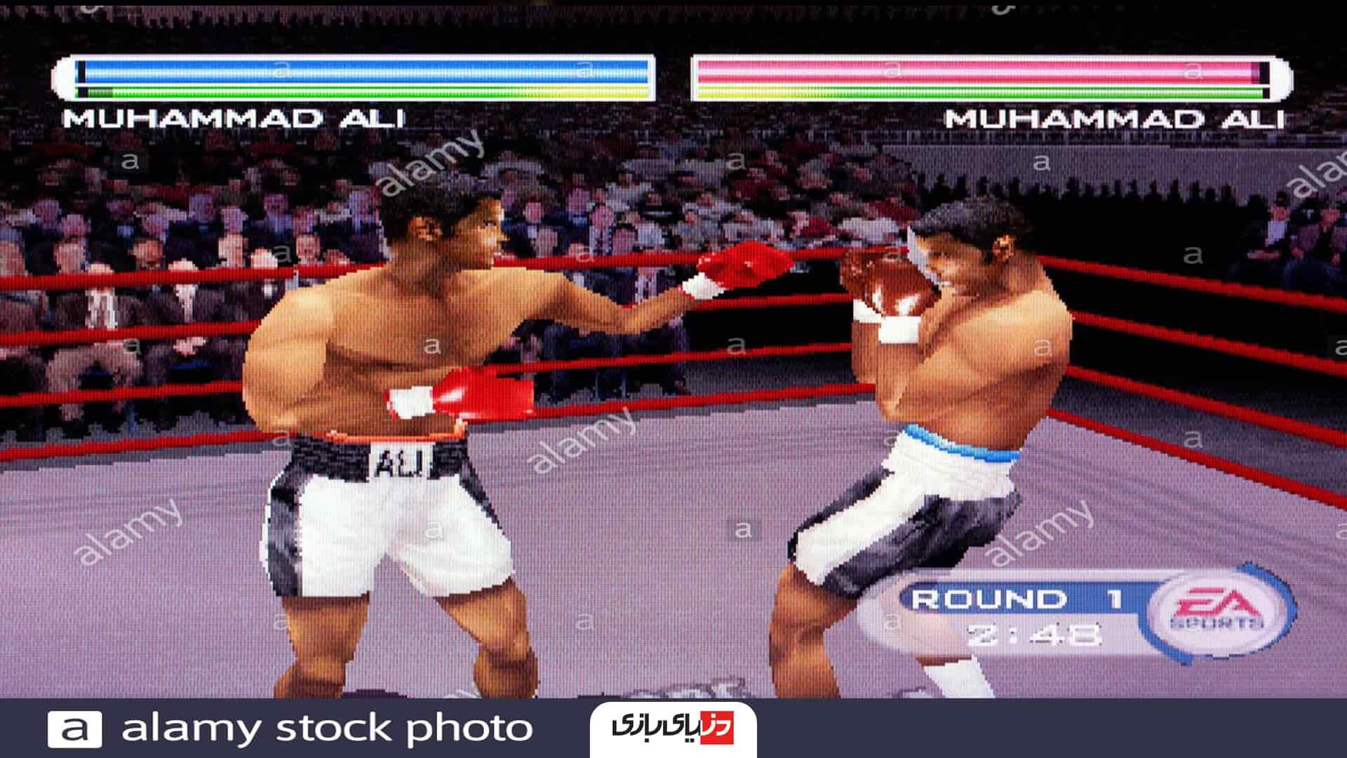 بازی های بوکس -Knockout Kings 2001