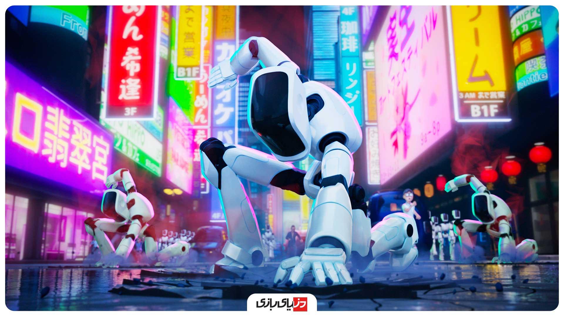 انیمیشن میچلها در برابر ماشینها