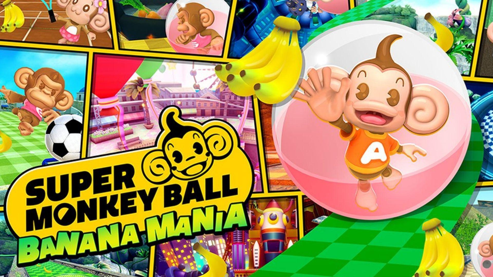 بازی Super Monkey Ball Banana Mania