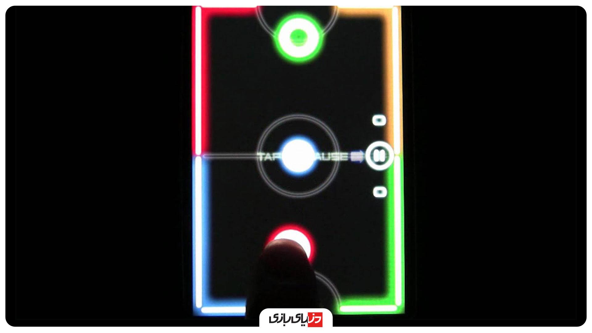 بازی Glow Hockey 2