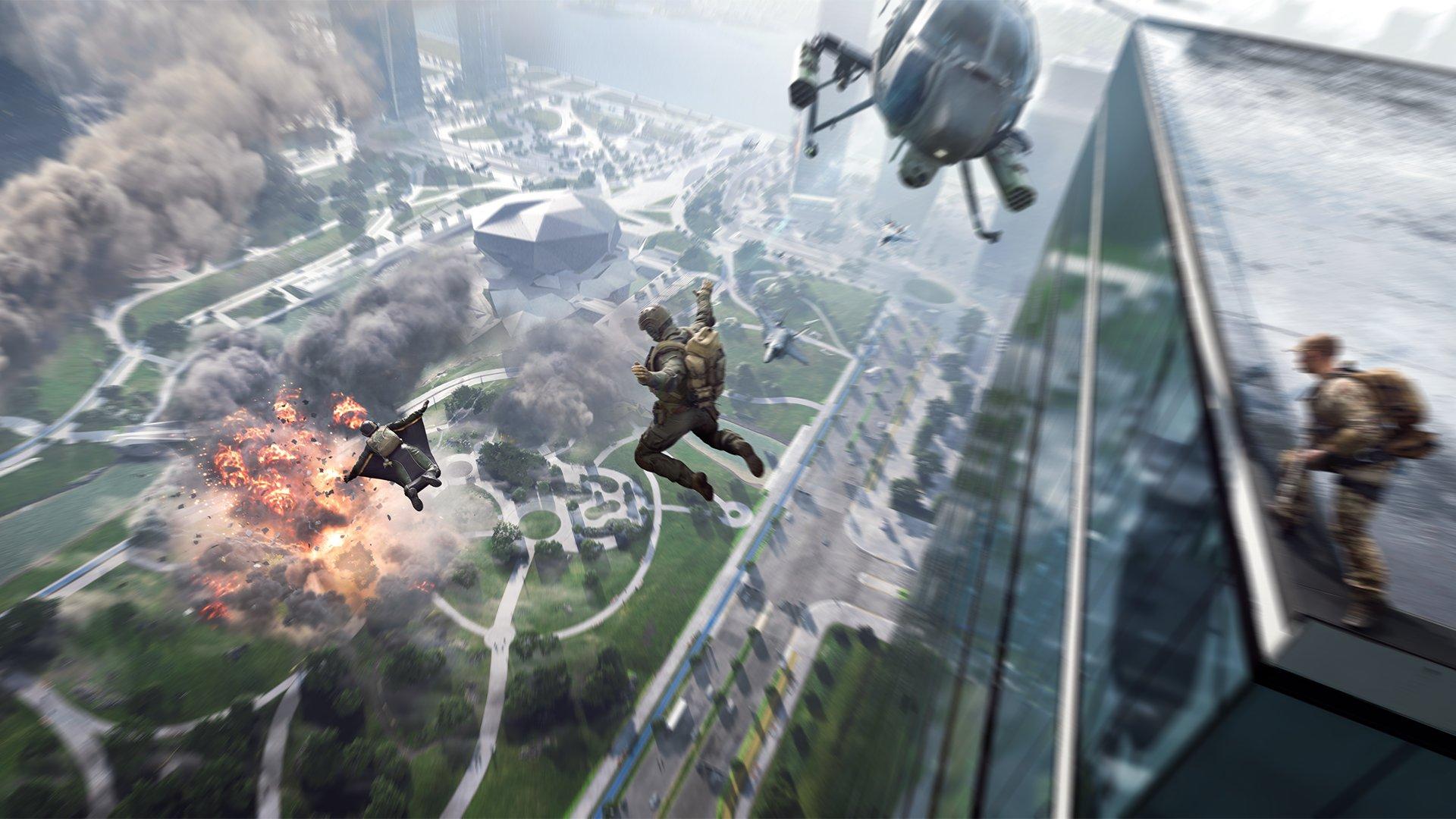 قابلیت کراس پلی در بازی Battlefield 2042
