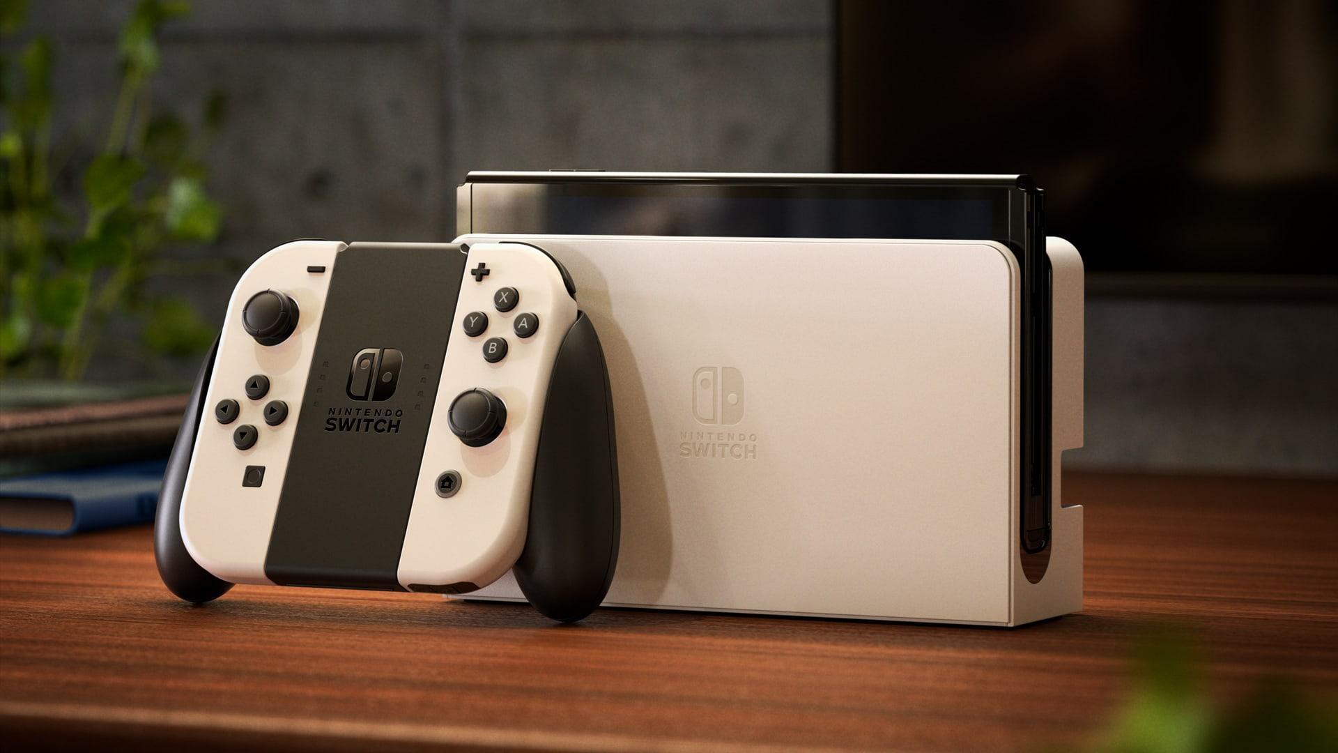 کنسول Nintendo Switch OLED