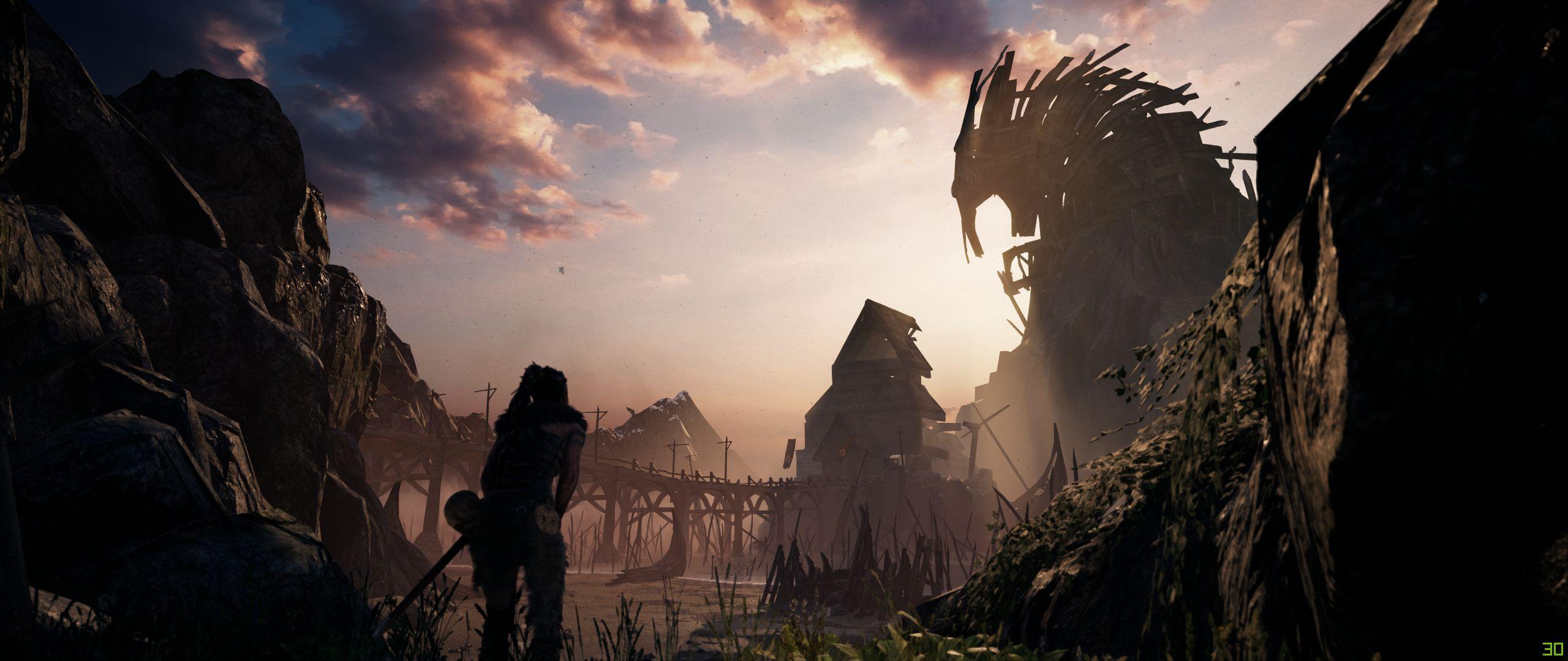 مقایسه کیفیت اجرای بازی Hellblade: Senua's Sacrifice