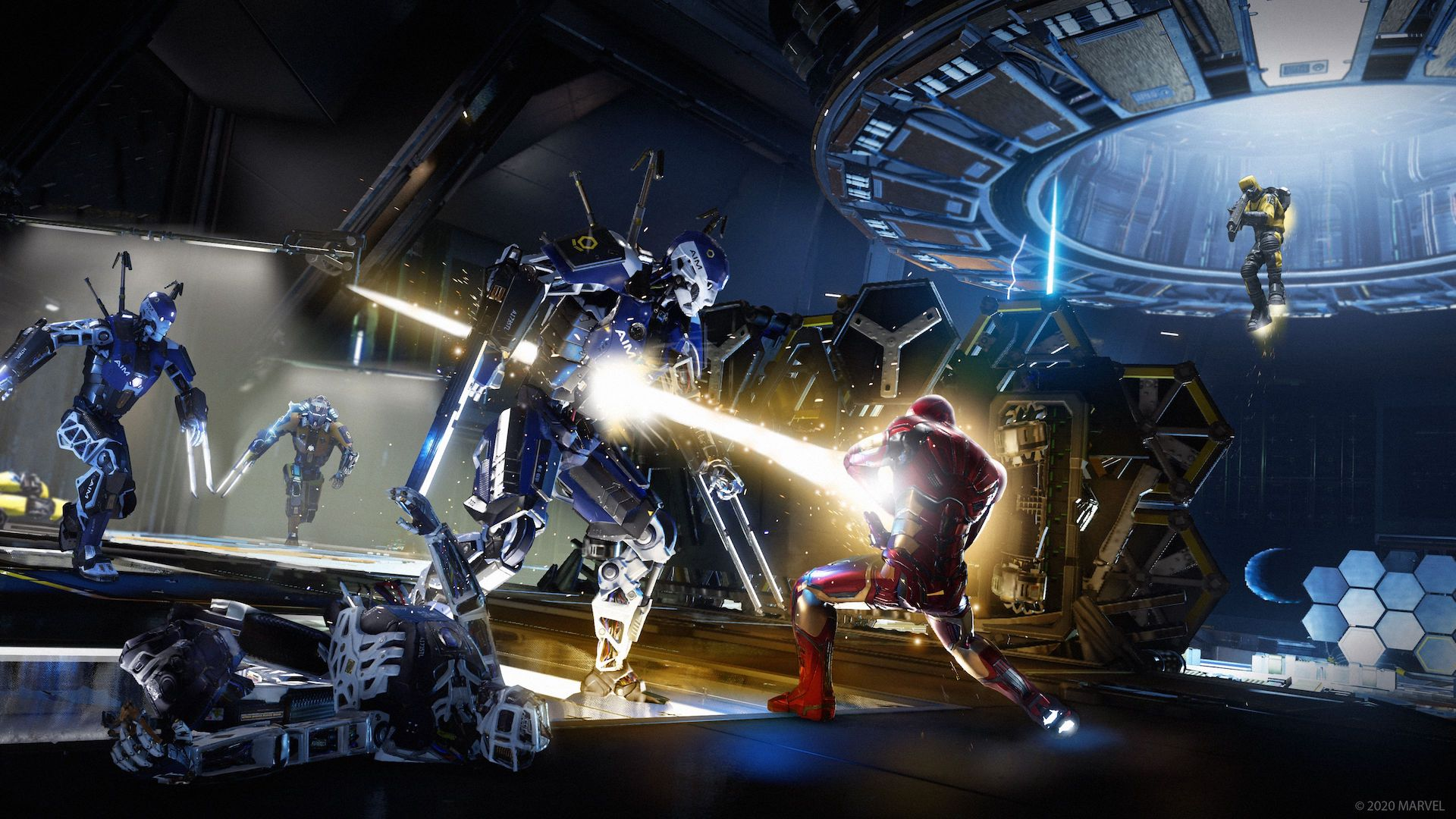 اسپایدر من در Marvel's Avengers