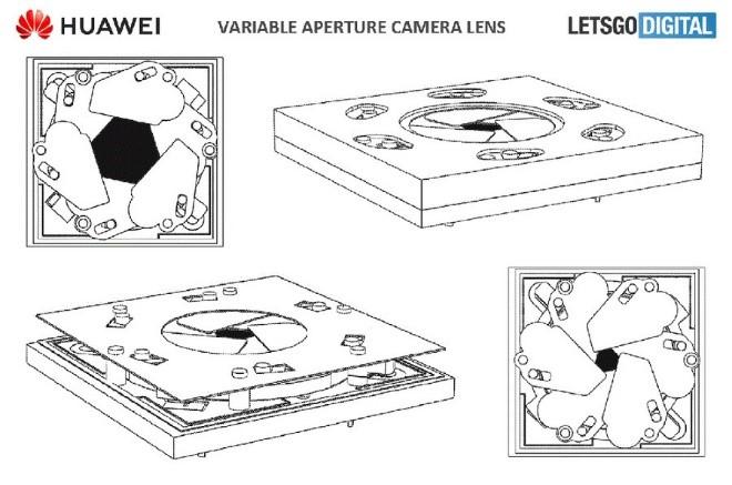 پتنت هواوی برای ماژول دوربین