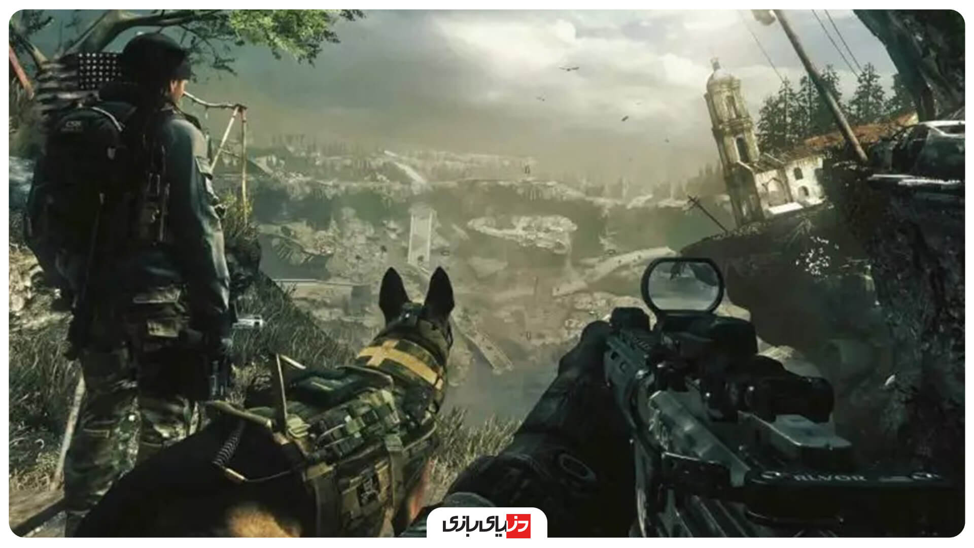 بازی جنگی Call Of Duty: Ghosts