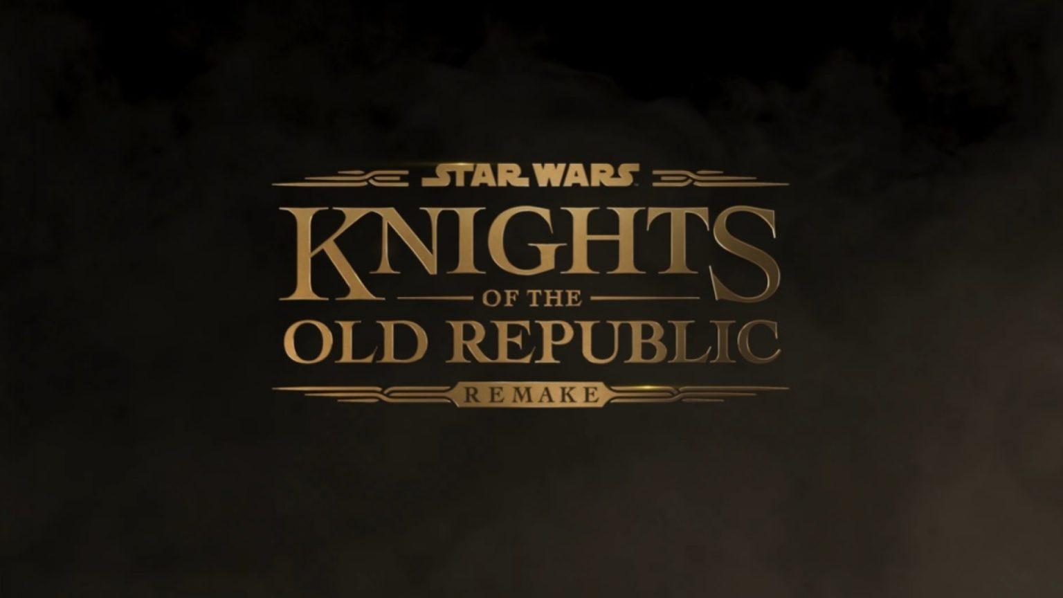 ریمیک بازی Star Wars: Knights of the Old Republic