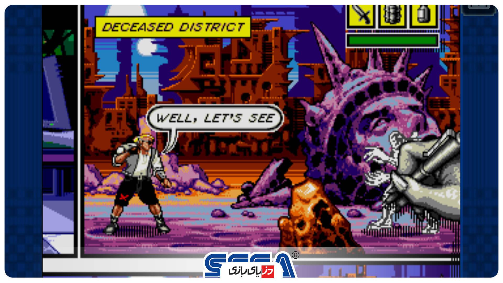 بازی Comix Zone Classic