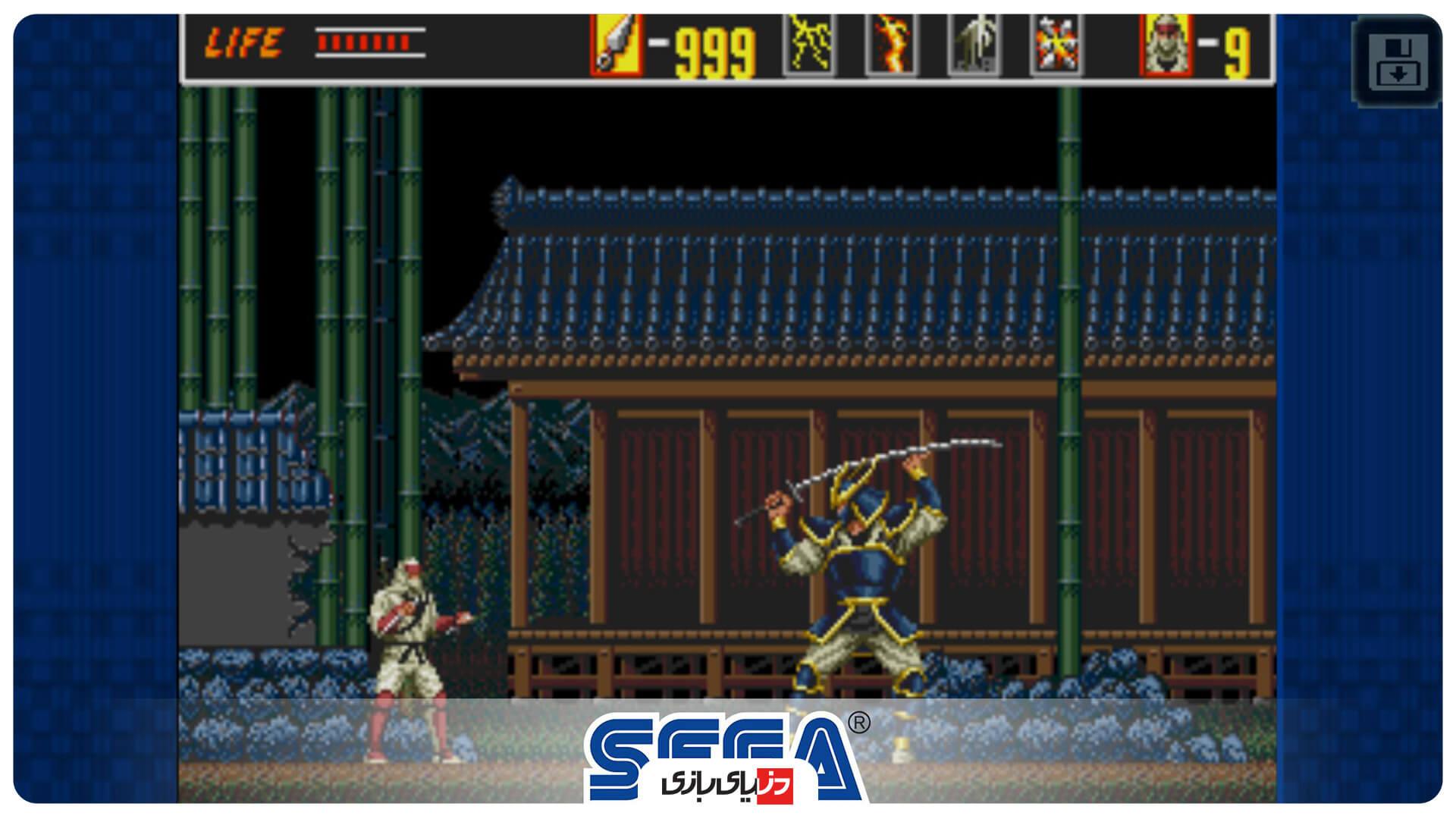 بازی The Revenge of Shinobi Classic