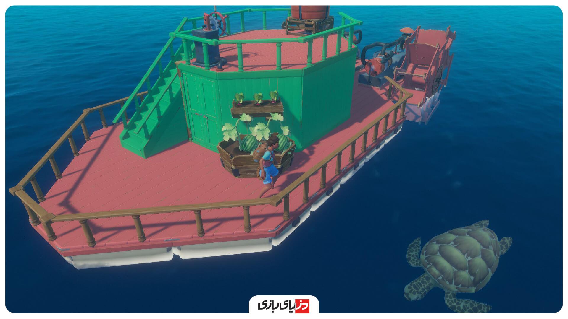 بهترین بازی های بقا -بازی Raft