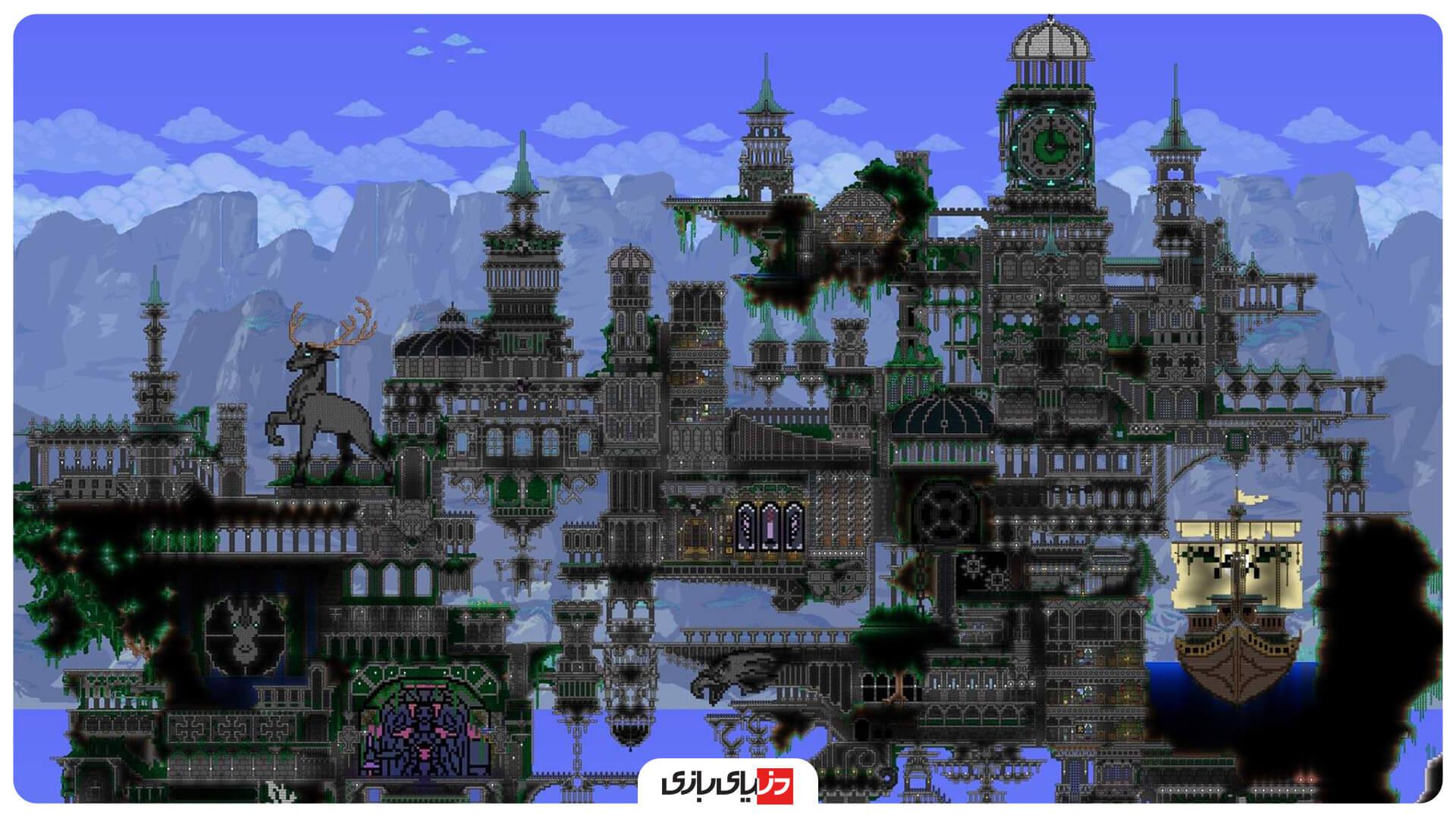 بهترین بازی های بقا - بازی Terraria