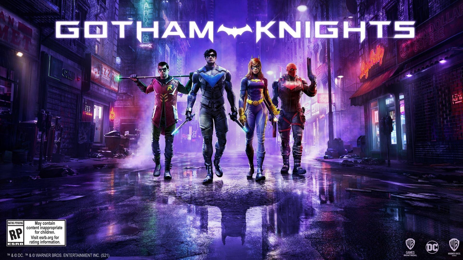 اطلاعات جدید بازی Gotham Knights