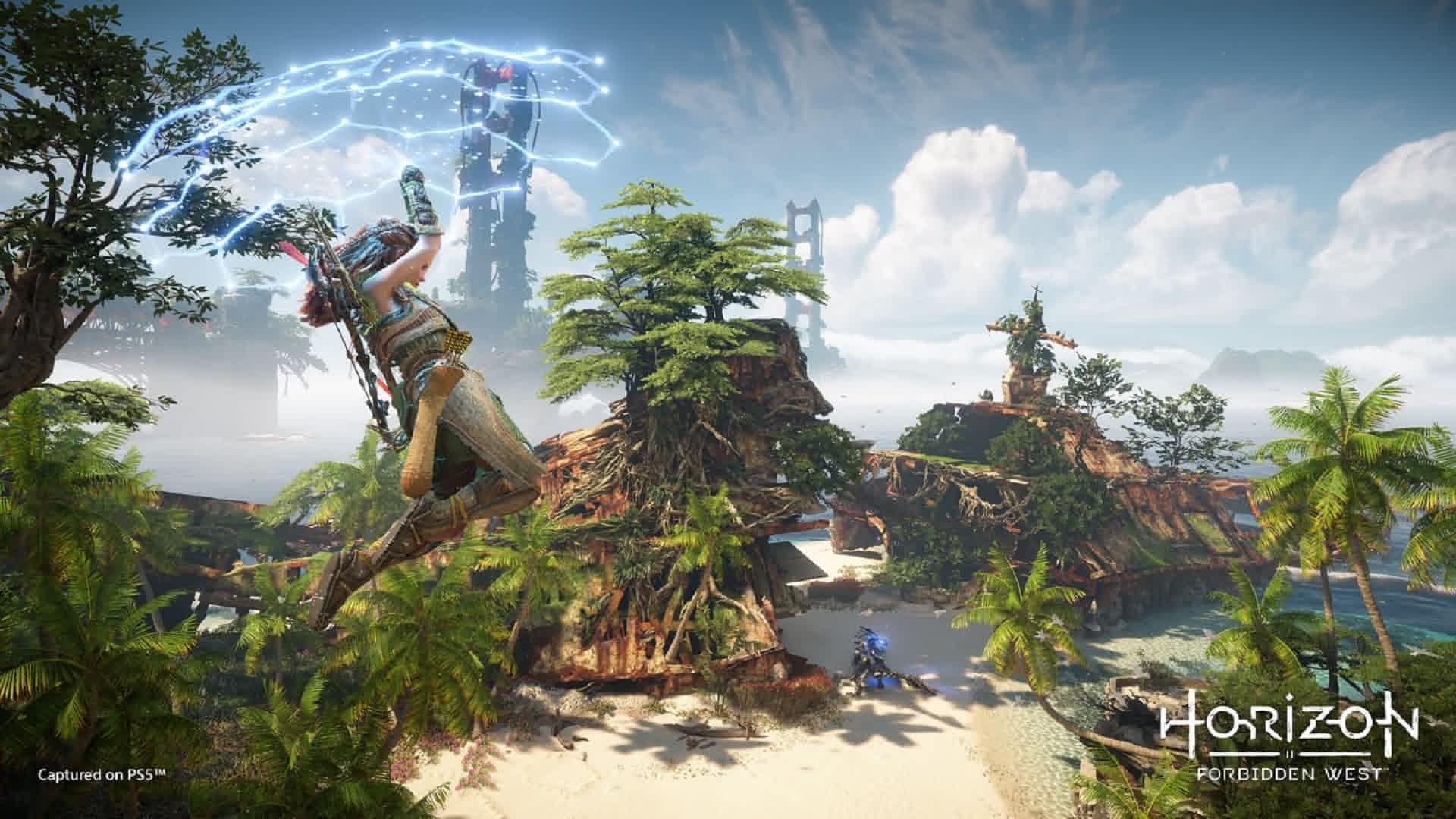 آپدیت نسخه PS4 به PS5 بازی Horizon Forbidden West