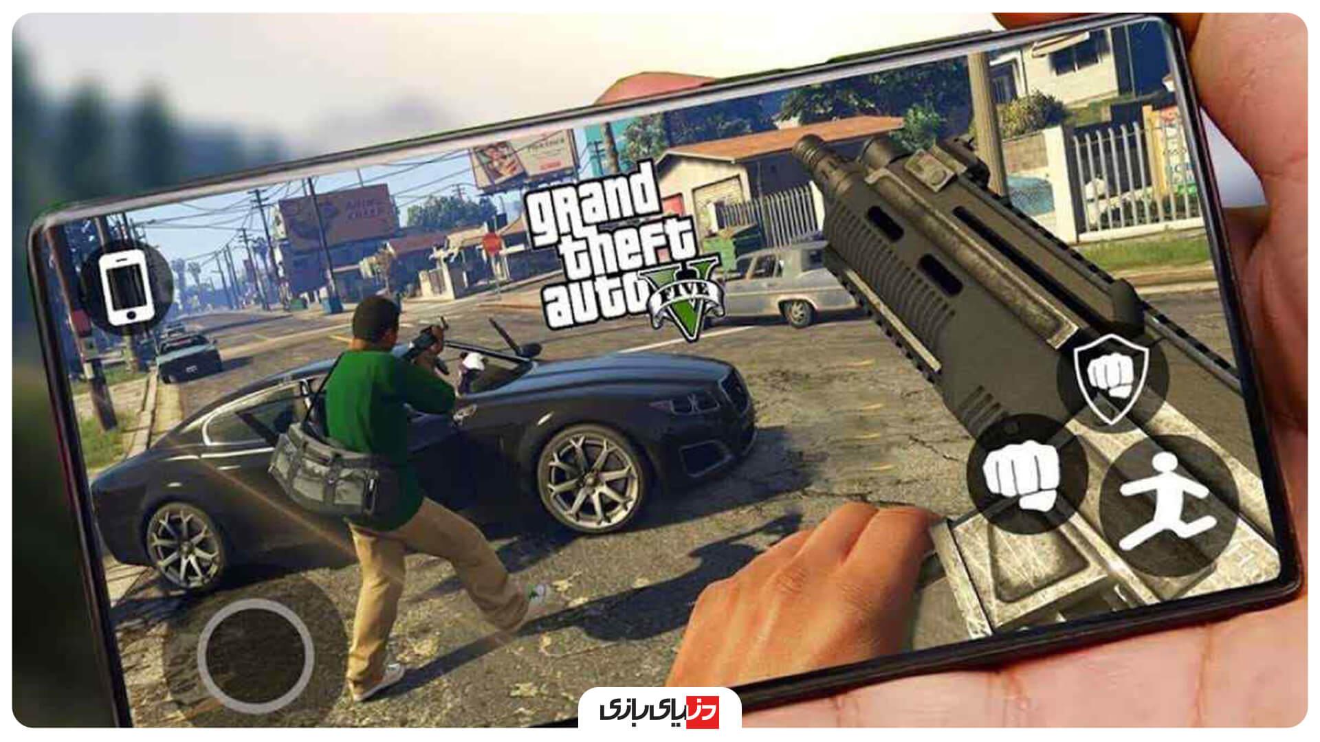بازی جهان باز Grand Theft Auto