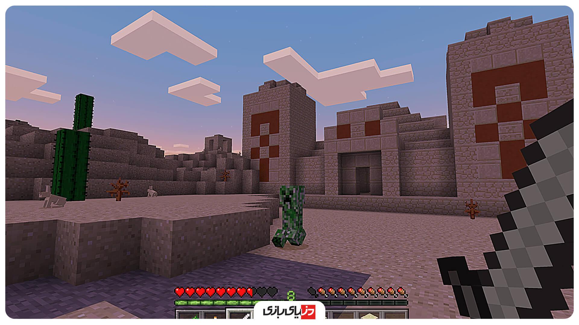 بازی جهان باز اندروید Minecraft
